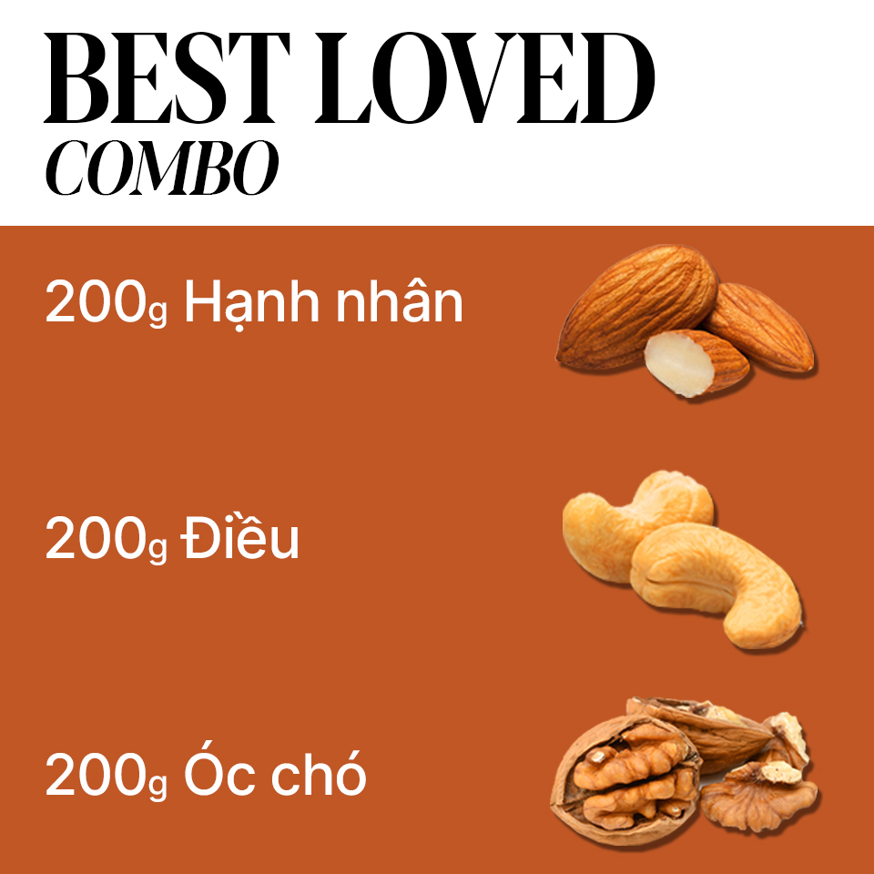 ABI DIET COMBO I ABINOW I HẠT DINH DƯỠNG CAO CẤP